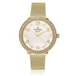Relógio Feminino Champion Crystal Analógico CN27376H Dourado