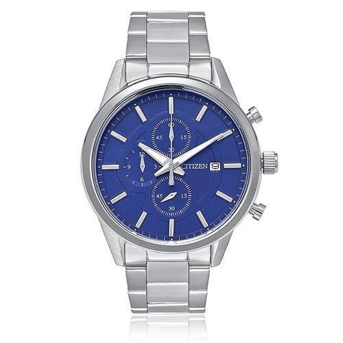 Relógio Masculino Citizen Analógico TZ20411F Fundo Azul