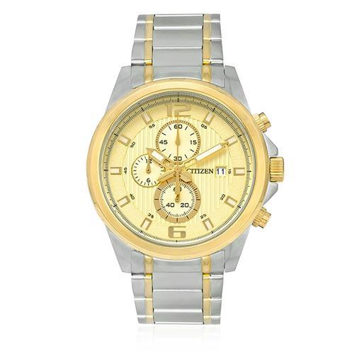 Relógio Masculino Citizen Chronograph Analógico TZ20457X Aço Misto