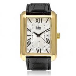 Relógio Masculino Dumont Analógico DU2115BS/3K Couro Preto