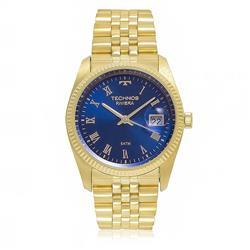 Relógio Masculino Technos Classic Riviera GM10YC/4A Fundo Azul