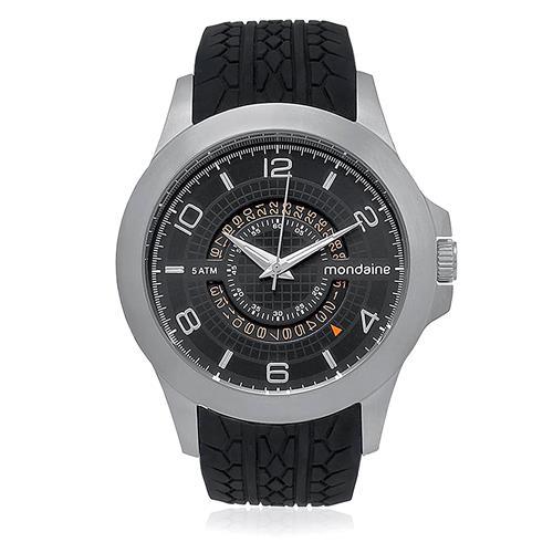 Relógio Masculino Mondaine Analógico 76403G0MVNU1 Borracha