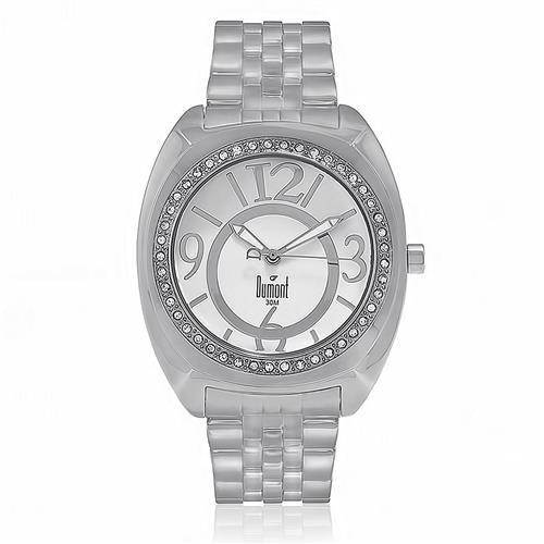 Relógio Feminino Dumont  Analógico SX25027/S Aço