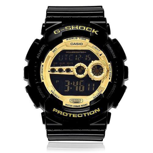 Relógio Masculino Casio G-Shock Digital GD-100GB-1DR Preto