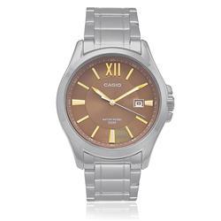 Relógio Masculino Casio Analógico MTP-E103ZD-5AVDF Fundo bronze