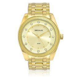 Relógio Feminino Seculus Analógico 28388LPSVDS1 Dourado