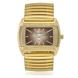 Relógio Feminino Mondaine Analógico 83208LPMVDE1 dourado com pulseira elástica