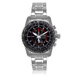 Relógio Masculino Seiko Sportura Analógico 7T62BT / 1 em aço e taquimetro e alarme