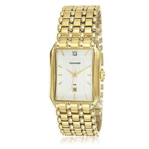 Relógio Feminino Technos Elegance Boutique Analógico 1N12AR/4K dourado com cristais