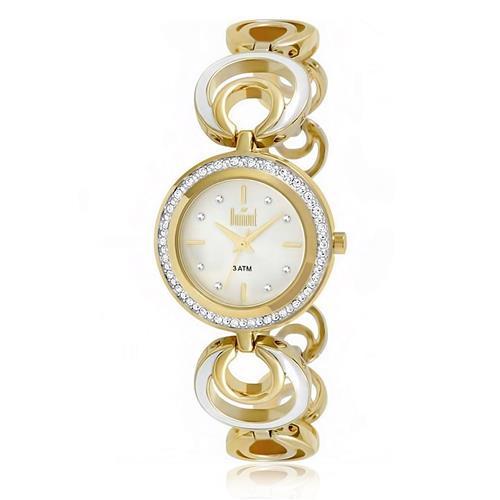 Relógio Feminino Dumont Analógico DU2035LQK/4K Dourado