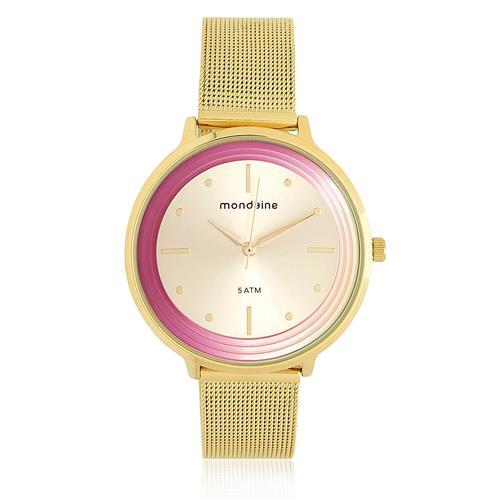 Relógio Feminino Mondaine Analógico 76511LPMVDE1 Dourado