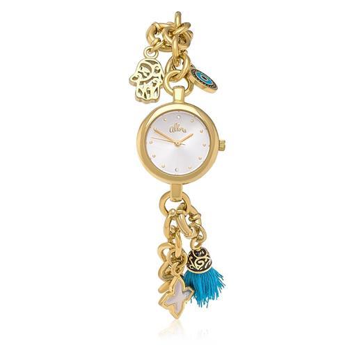 Relógio Feminino Allora Berloqueira AL2035FCB/K4K Dourado