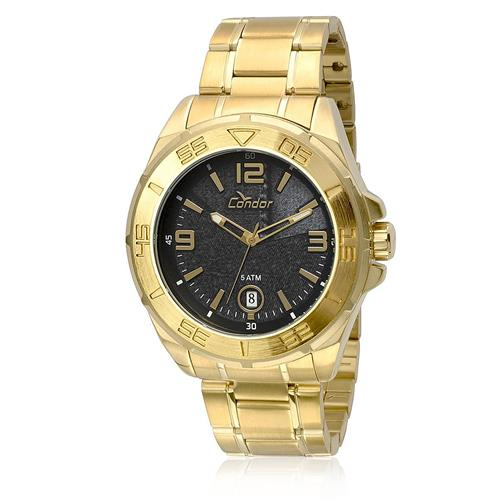 Relógio Masculino Condor Analógico CO2415AN/4P Dourado