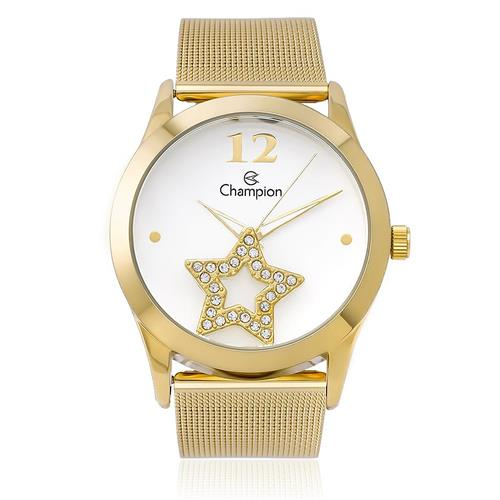 Relógio Feminio Champion Analógico CH25918H Dourado