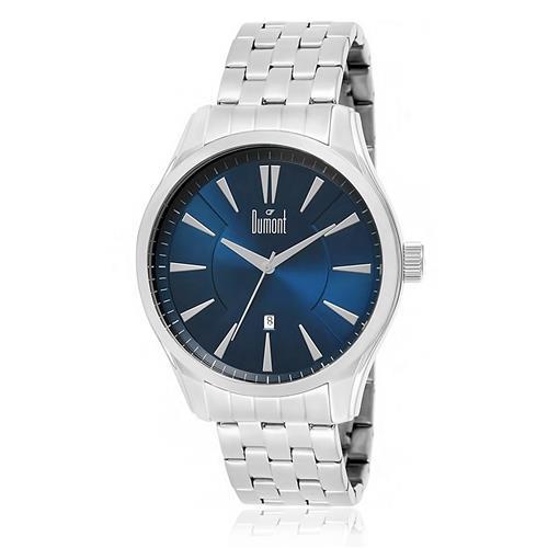Relógio Masculino Dumont Analógico DU2315AW/3A Fundo Azul