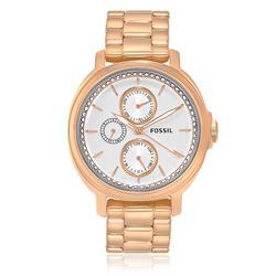 Relógio Feminino Fossil Chelsey Multifunction Analógico ES3353/4BN Aço Rose