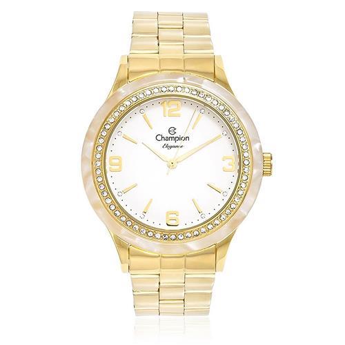 Relógio Feminino Champion Elegance Analógico 15236 Dourado