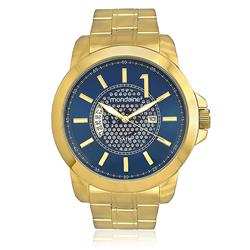 Relógio Masculino Mondaine Analógico 78642GPMVDA1 Fundo Azul