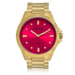Relógio Feminino Mondaine Analógico 76480LPMVDE1 Dourado