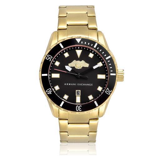 Relógio Masculino Armani Exchange Analógico AX1710/4PN Dourado