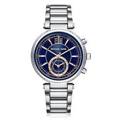Relógio Feminino Michael Kors Analógico  MK6224/1AN Fundo Azul