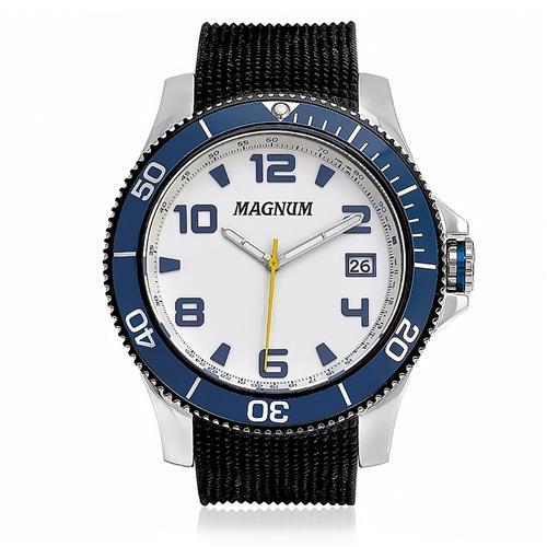 Relógio Masculino Magnum Analógico MA33317A Borracha