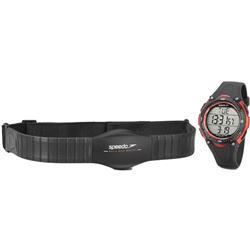 Relógio Masculino Speedo Monitor Cardíaco Digital 80565G0EPNP1 Com catraca vermelha