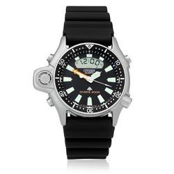 Relógio Masculino Citizen Aqualand Promaster Ana - Digi TZ10137T Borracha