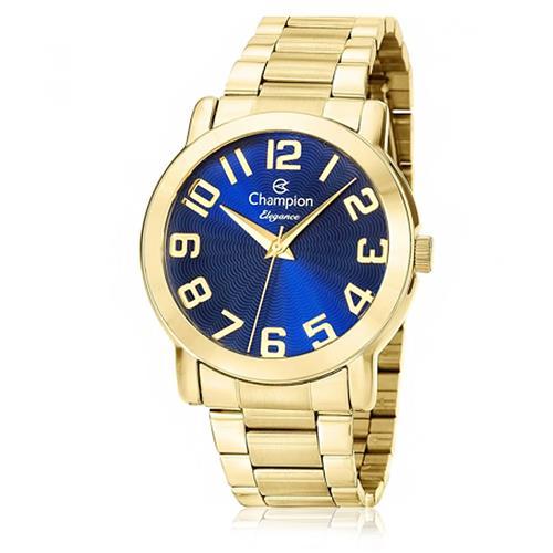 Relógio Feminino Champion Analógico CN26144A Fundo Azul