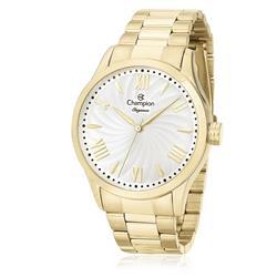 Relógio Feminino Champion Elegance Analógico CN27796H Dourado