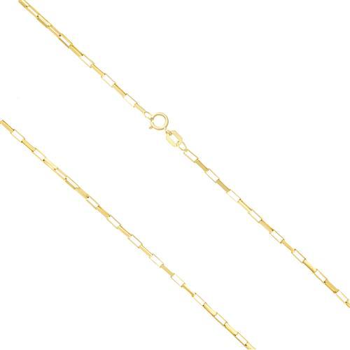 Corrente Masculina Elos Cartier, 1,8 gramas em Ouro Amarelo