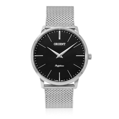 Relógio Orient Slim Sapphire MBSSS007 P1SX Fundo Preto