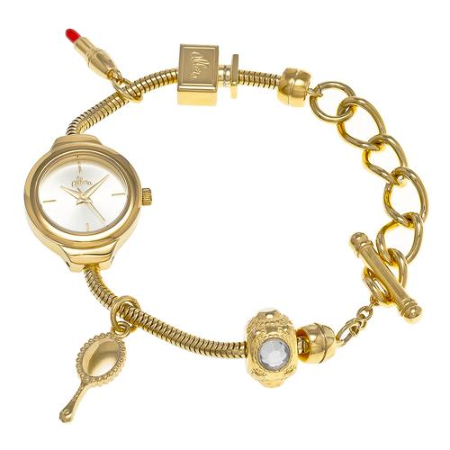 Relógio Feminino Allora Berloqueira Analógico AL2035EXV/4X Dourado