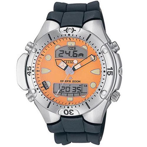 Relógio Masculino Citizen Promaster Aqualand TZ10020Y Borracha