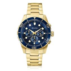 Relógio Masculino Bulova Analógico WB31989Z Fundo Azul