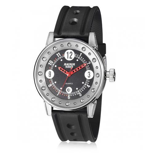 Relógio Masculino Magnum Analógico MR30564T Borracha