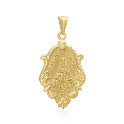 Pingente Nossa Senhora, em Ouro Amarelo