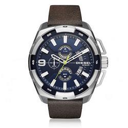 Relógio Masculino Diesel Analógico DZ4418/0AN Couro Marrom