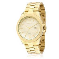 Relógio Masculino Technos Classic Steel Analógico 2115KNP/4X Dourado