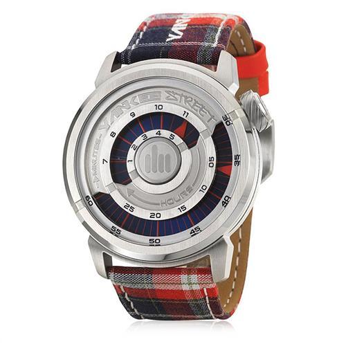 Relógio Masculino Yankee Street Urban Analógico YS30176V em Couro