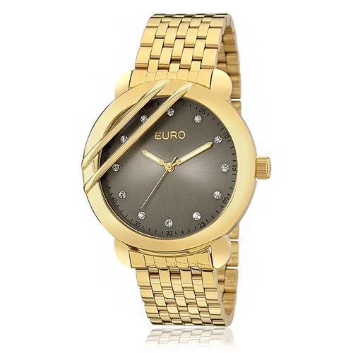 Relógio Feminino Euro Analógico EU2036YEB/4C Dourado
