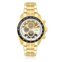 Relógio Masculino Technos Performance TS Carbon analógico OS1AAY/4D Dourado