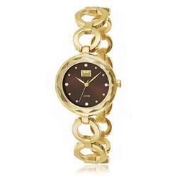 Relógio Feminino Dumont Analógico DU2035LMQ/4M Fundo Marrom