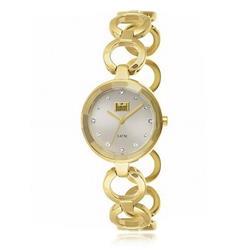 Relógio Feminino Dumont Analógico DU2035LMP/4K Dourado