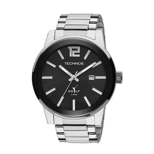 Relógio Masculino Technos Classic Golf 2115TU/1P Aço