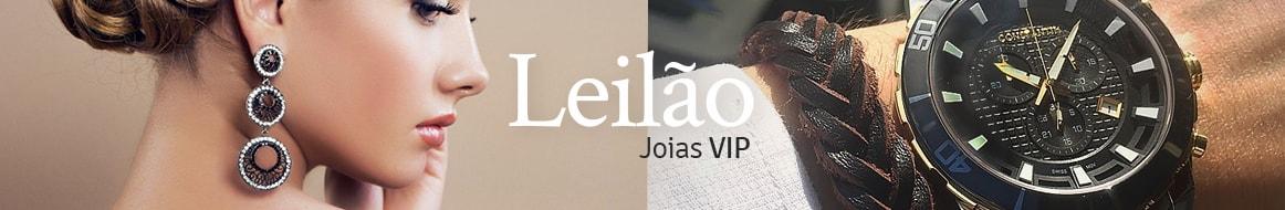 Leilão Joias Vip - Joias e Relógios