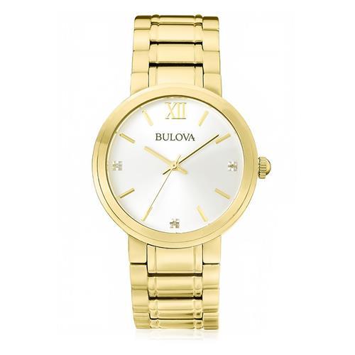 59129074f89 Relógio Masculino Bulova Analógico WB26137H Dourado