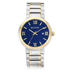 5703efa17e6 Relógio Masculino Bulova Analógico WB26146A Fundo Azul