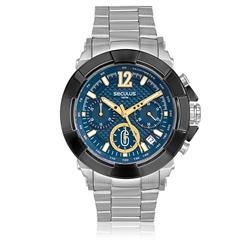 f131d5b1c27 Relógio Masculino Seculus Analógico 20386GPSVCA2 Aço