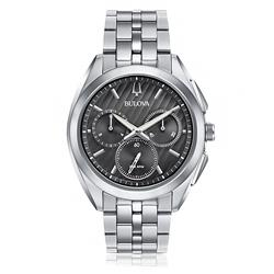955b77c79b9 Relógio Masculino Bulova Curv Analógico WB31890W Aço
